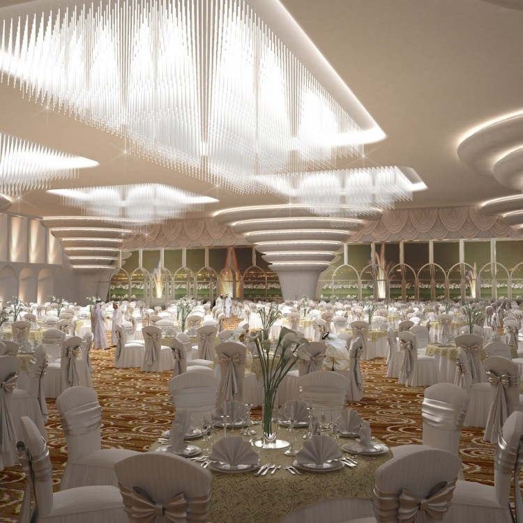 abu dhabi architects wedding hall d
