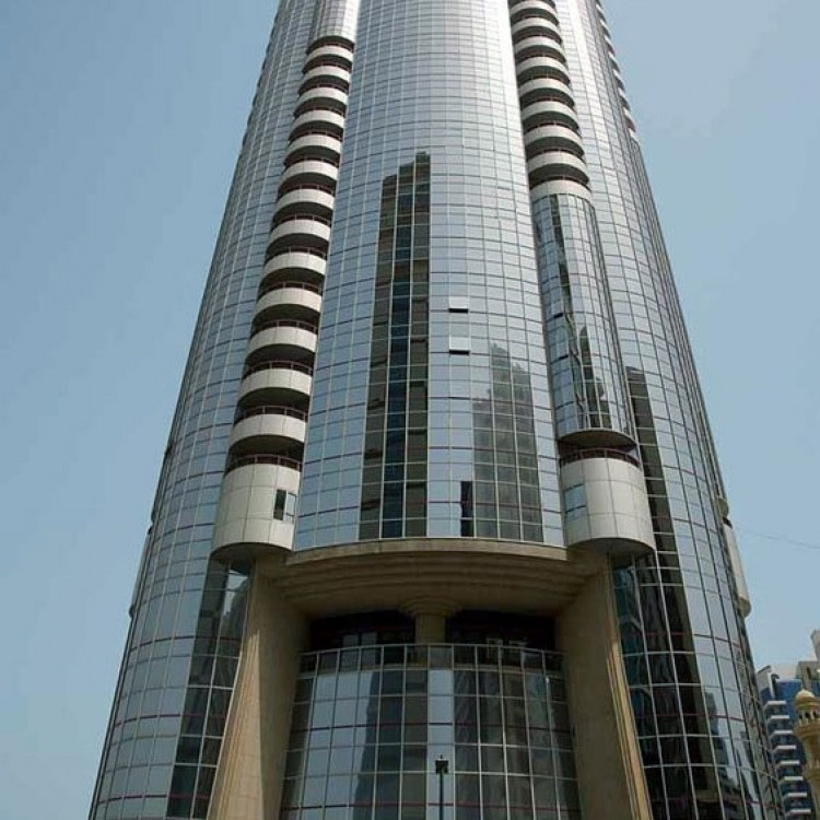 abu dhabi architecture silver tower a