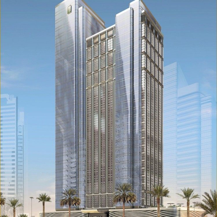 Ga architects abu dhabi arjaan rotana adnec for Architectural design companies in abu dhabi