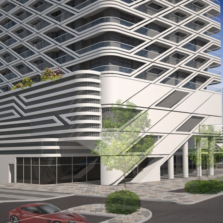 architect abu dhabi mismak tower 1a