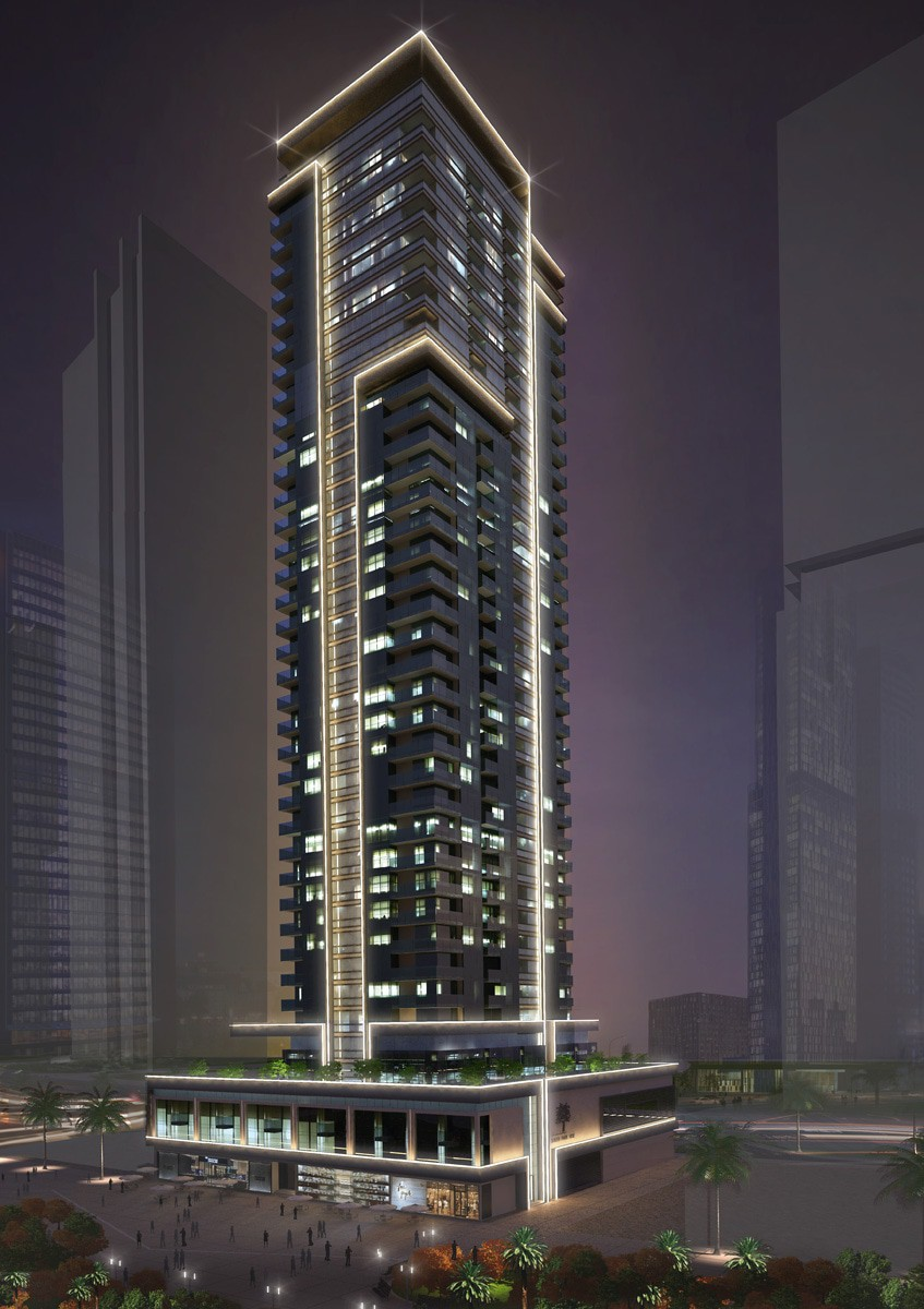 Ga architects abu dhabi al reem investment tower 1 for Al manzool decoration abu dhabi