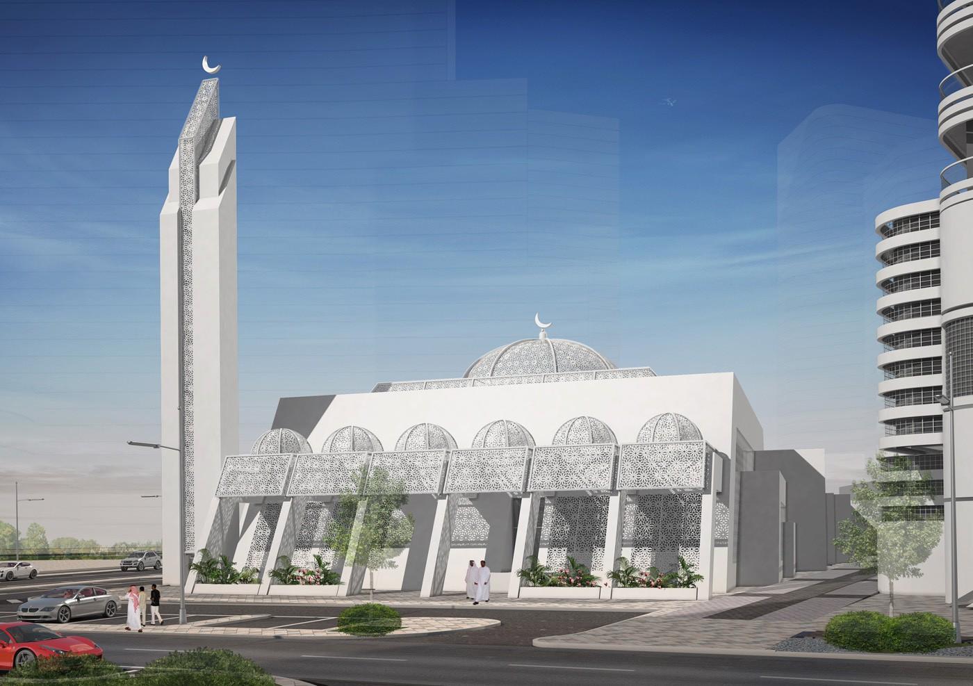 Home Design Architect Ga Architects Abu Dhabi The Najmat Mosque Al Reem