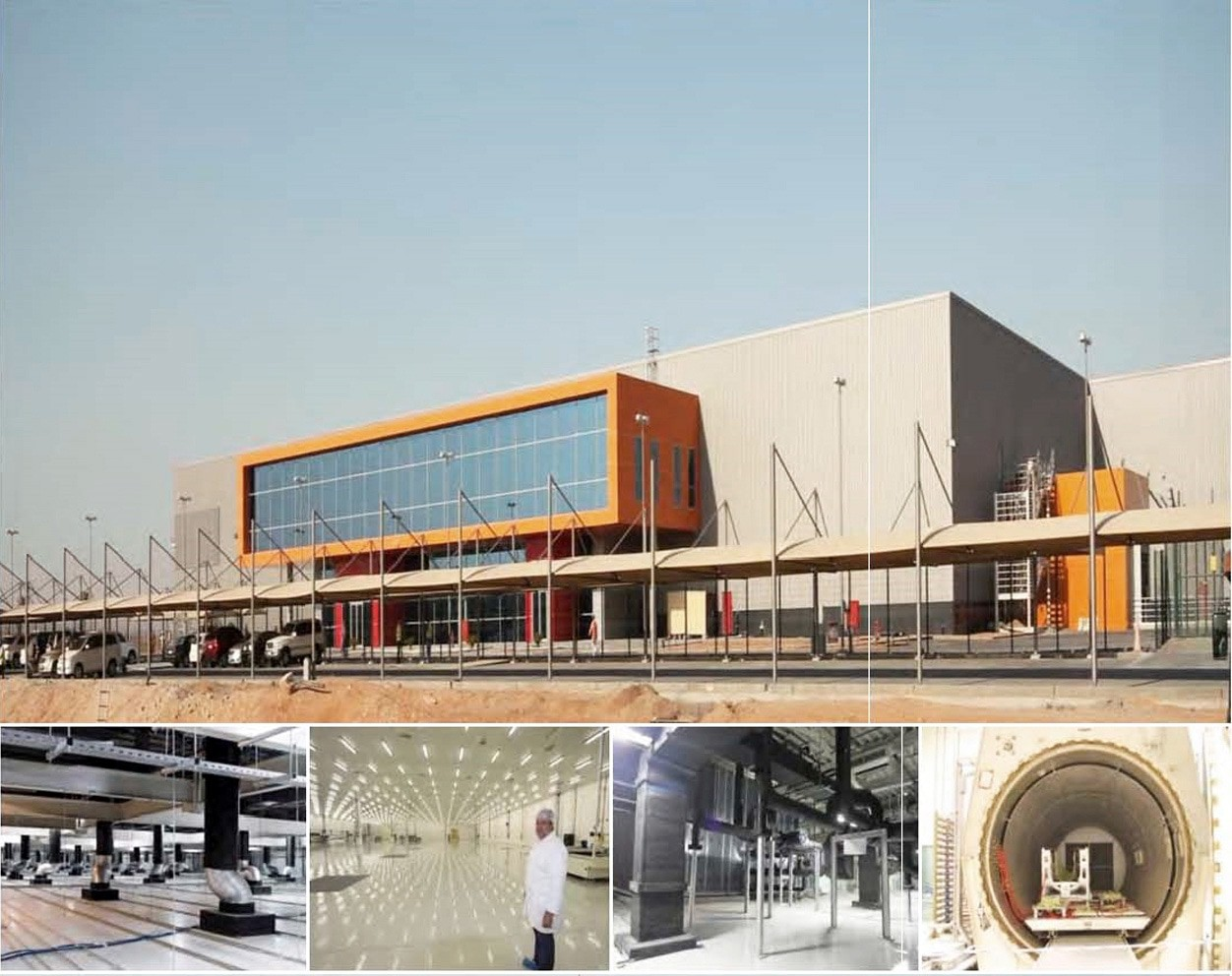 GA architects Abu Dhabi - The Aerostructres Compsite Plant