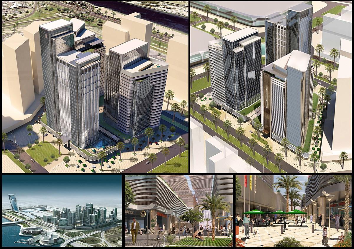 Ga architects abu dhabi al badie group office tower - Office tourisme abu dhabi ...