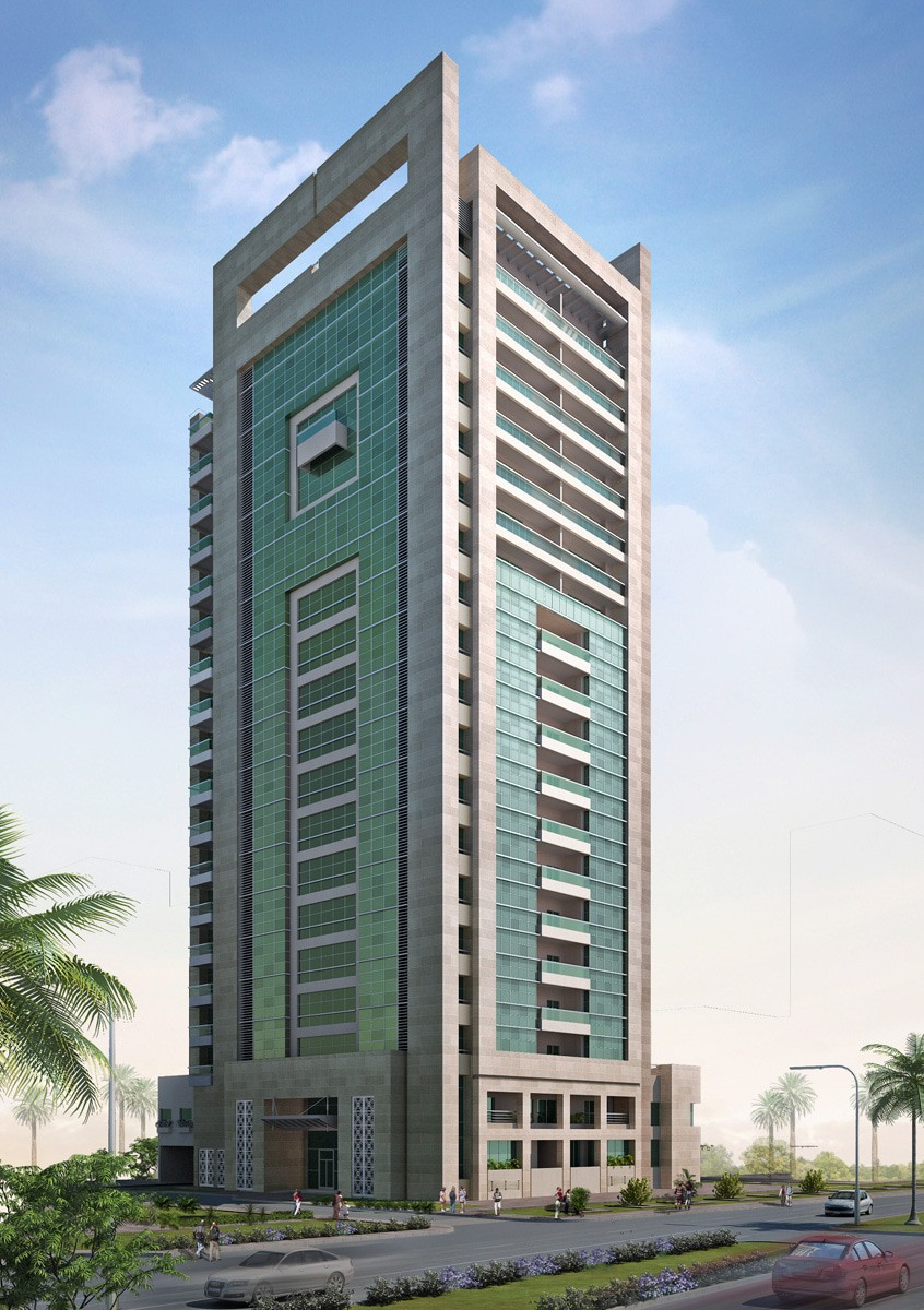 Ga architects abu dhabi mbz residential building for Architectural design companies in abu dhabi