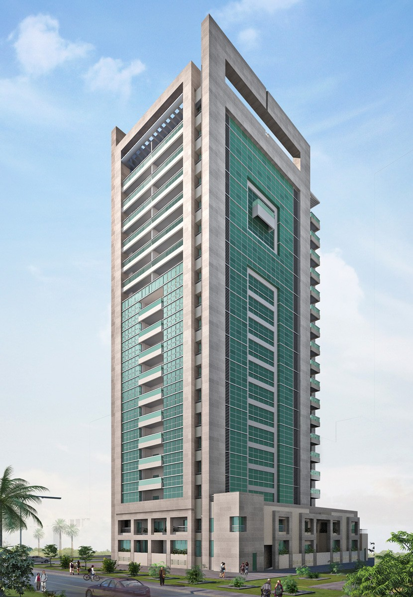 Ga Architects Abu Dhabi Mbz Residential Building