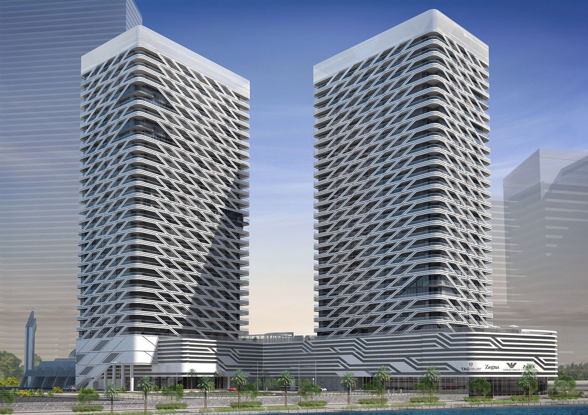 Ga Architects Abu Dhabi Mismak Towers