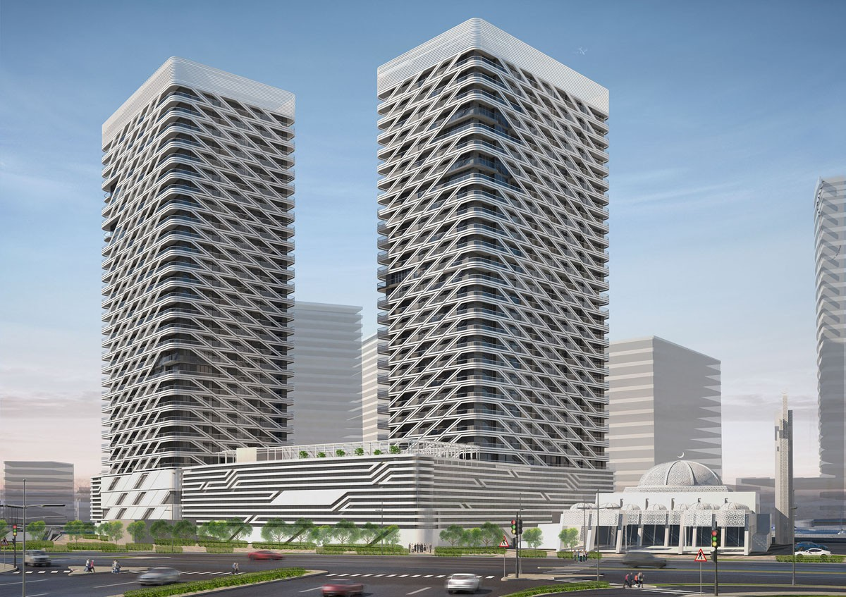 Ga Architects Abu Dhabi Mismak Towers