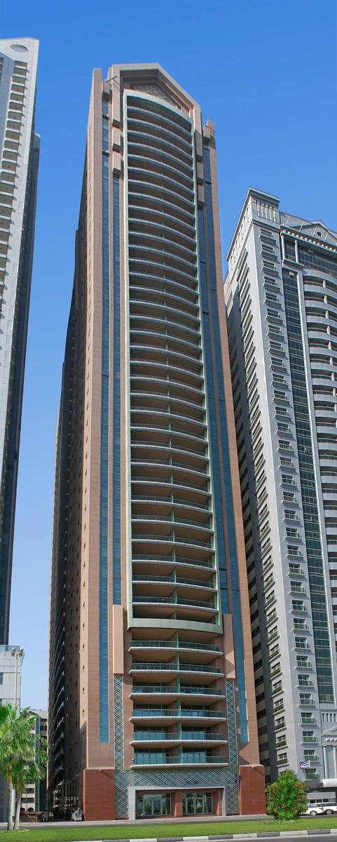 Ga architects abu dhabi al majaz tower sharjah for Architectural design companies in abu dhabi