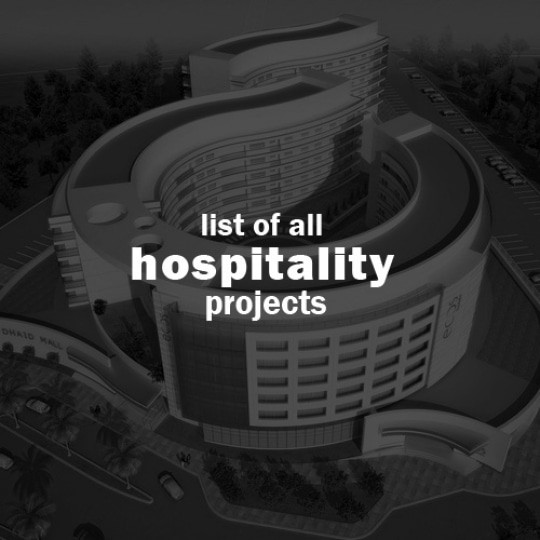 abu dhabi architect all hospitality projects