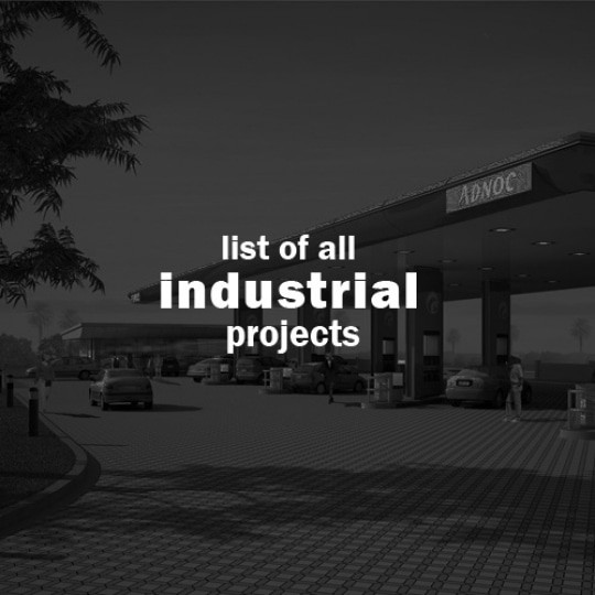 abu dhabi architect all industrial projects