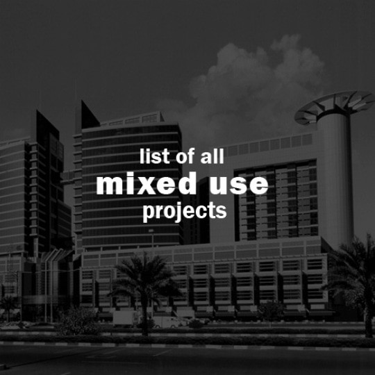 abu dhabi architect all mixed use projects