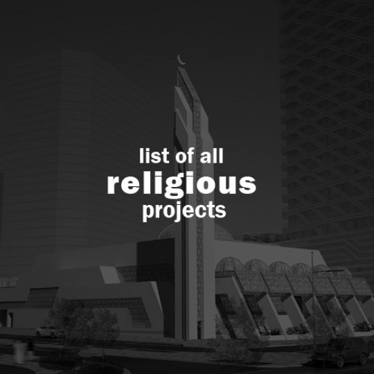 abu dhabi architect all religious projects