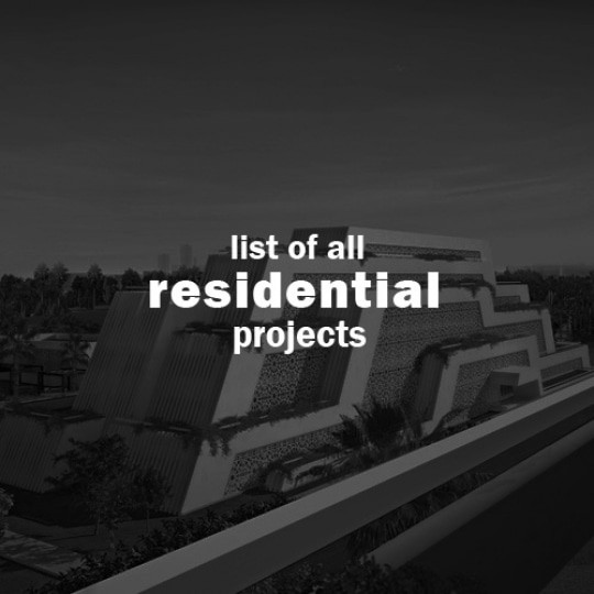 abu dhabi architect all residential projects