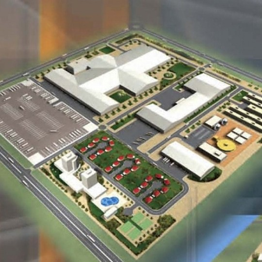 abu dhabi architect industrial park project d