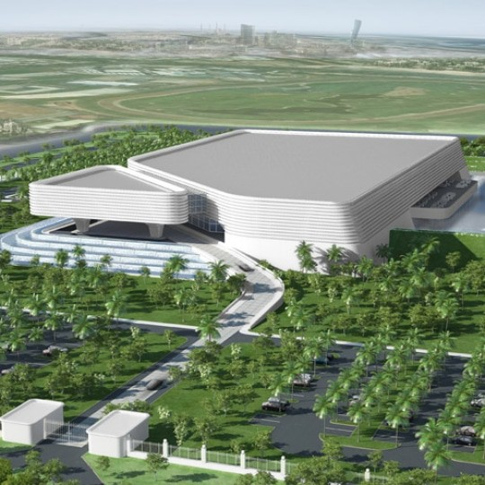 abu dhabi architects wedding hall g