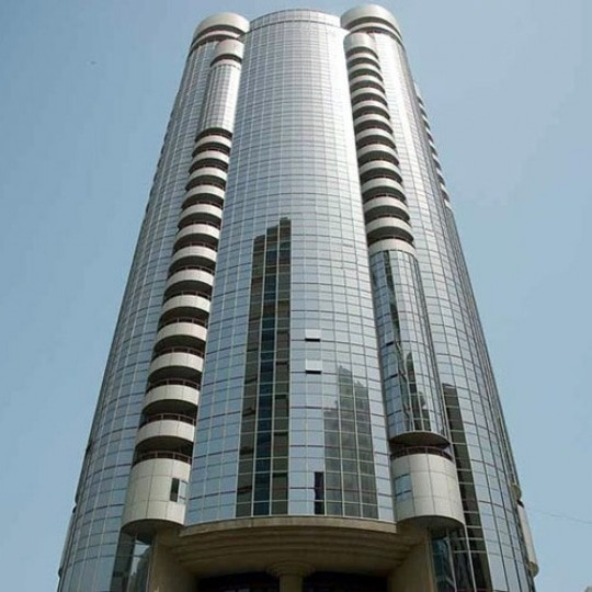 abu dhabi architecture silver tower