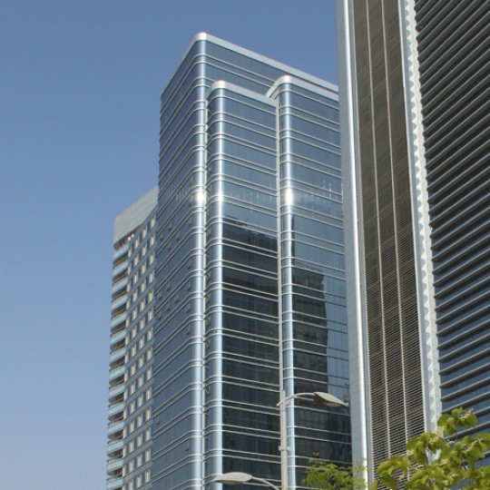architect abu dhabi al badie group office tower 9