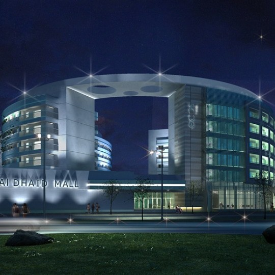 architect abu dhabi al dhaid mall