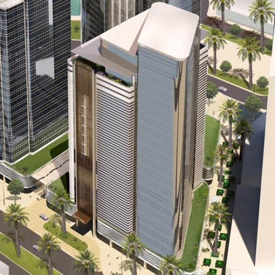 architect abu dhabi crystla office tower 4