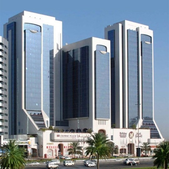 architect abu dhabi holiday inn 1
